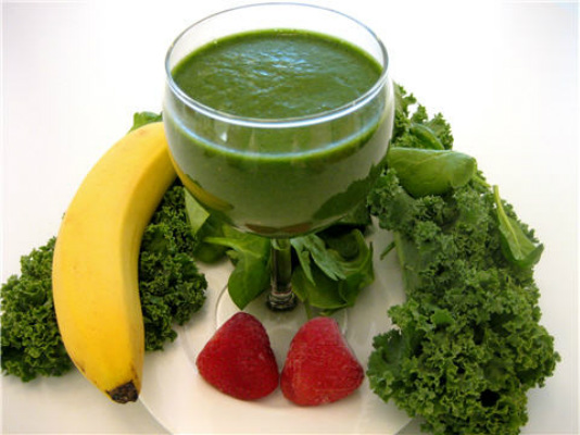 Green super foods